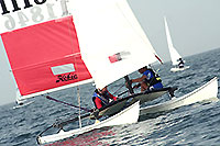 Hobie Cat 16 at Kuwait Sailing Club