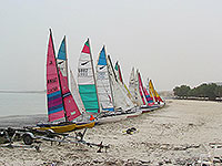 catamarans on messilah beach